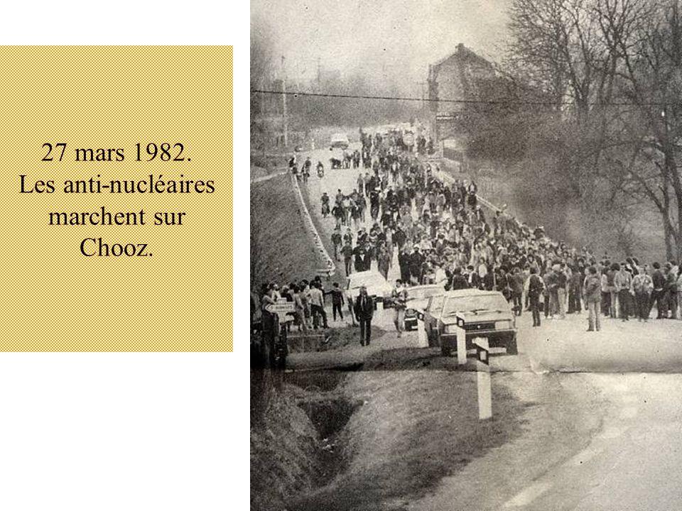 27 mars 1982. Les anti-nucléaires marchent sur Chooz.