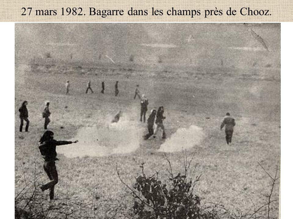 27 mars 1982. Bagarre dans les champs près de Chooz.