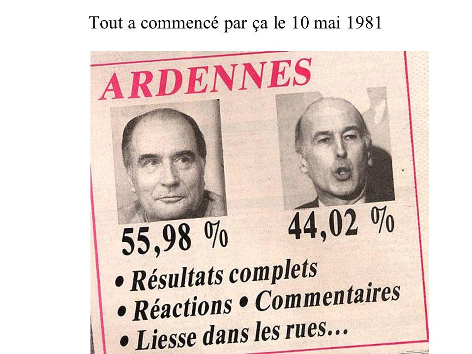 Manif anti-nucléaire au départ. Fin juillet 1982