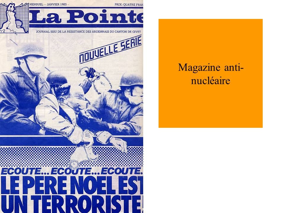 Magazine anti- nucléaire