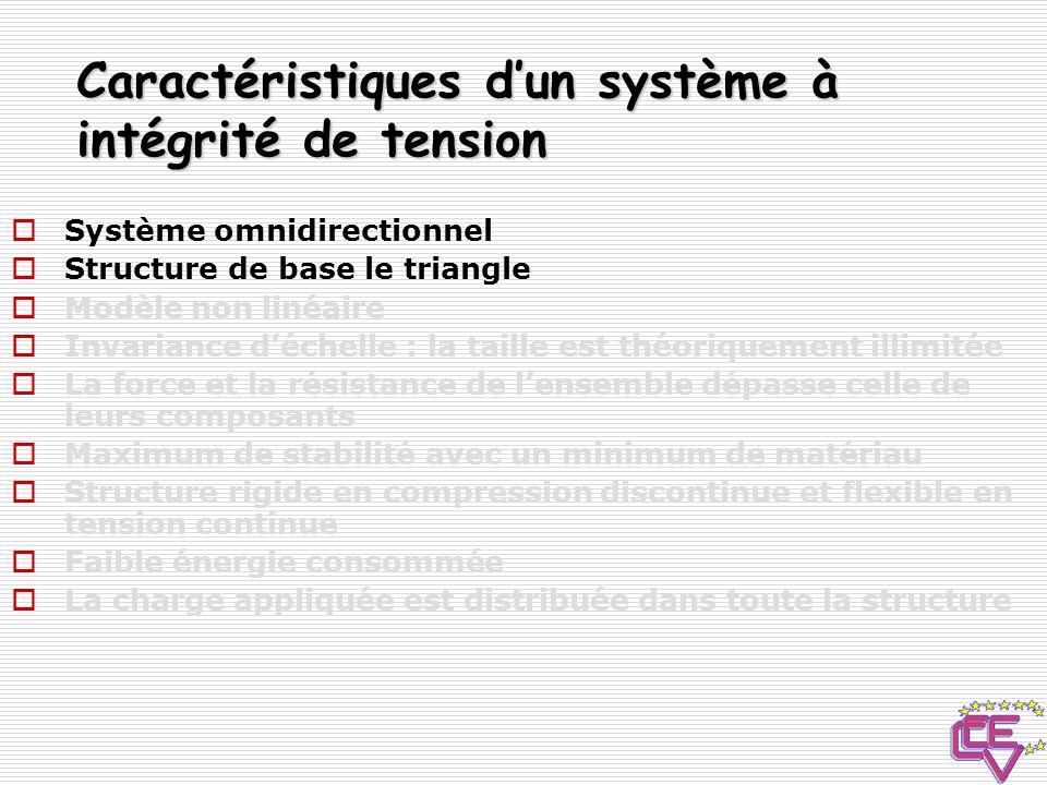 Structure de base : Le triangle Icosahèdre tronqué = ballon de football Pour une meilleure stabilité