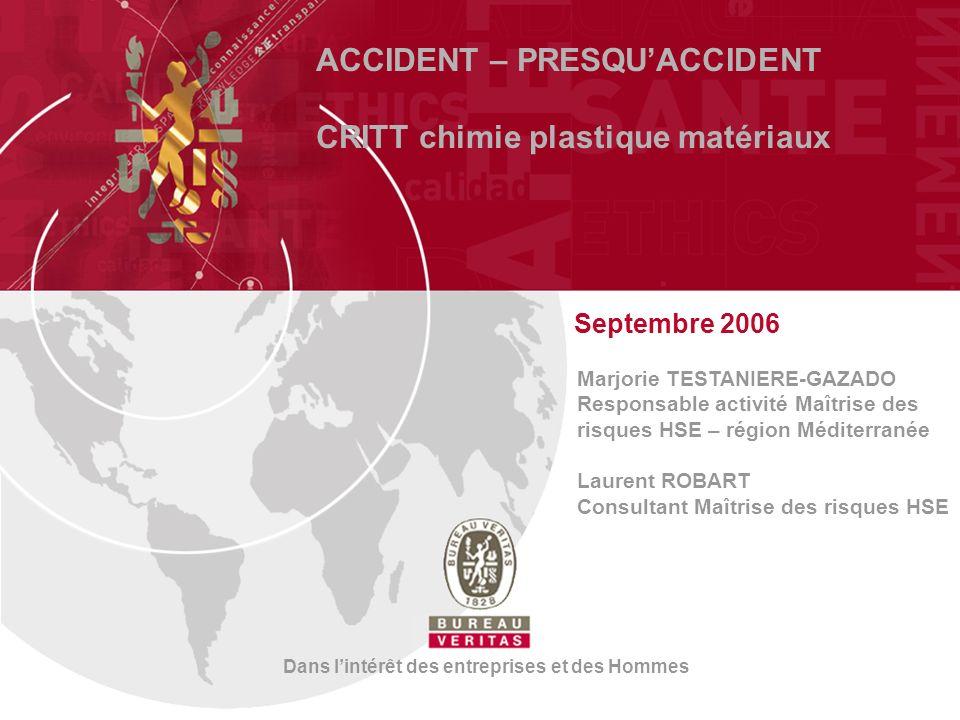 11 Accidents du travail FRANCE 626 morts en 2004 700 000 accidents du travail avec arrêt* 40 accidents du travail avec arrêt pour 1000 salariés (statistiques 29/04/2005, CNAMTS)*