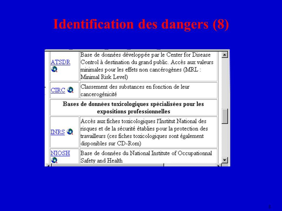 8 Identification des dangers (8)