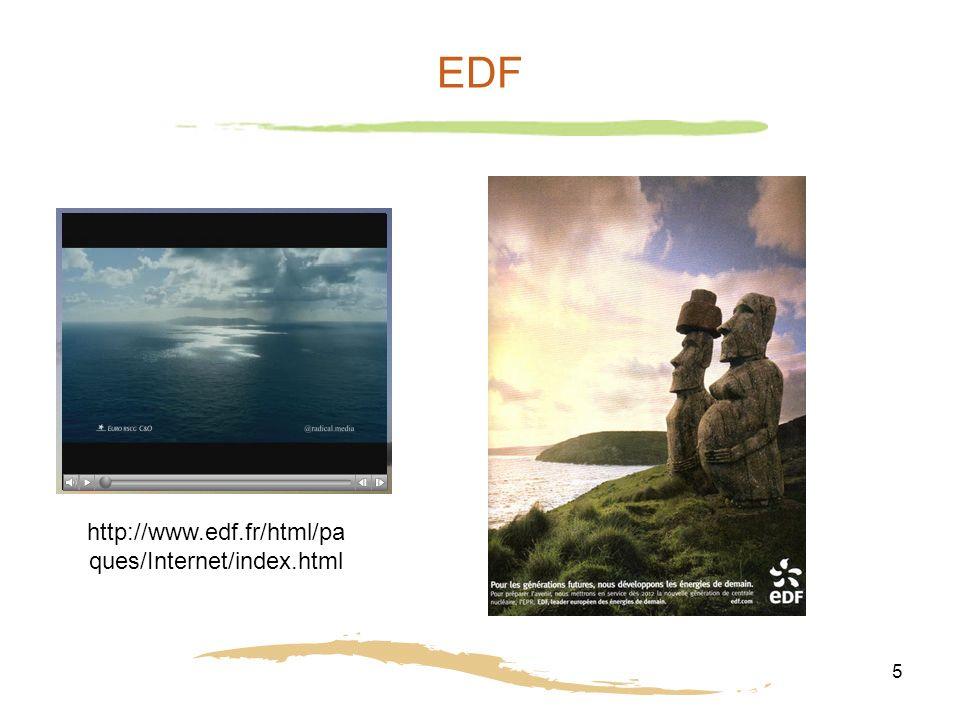 5 EDF http://www.edf.fr/html/pa ques/Internet/index.html