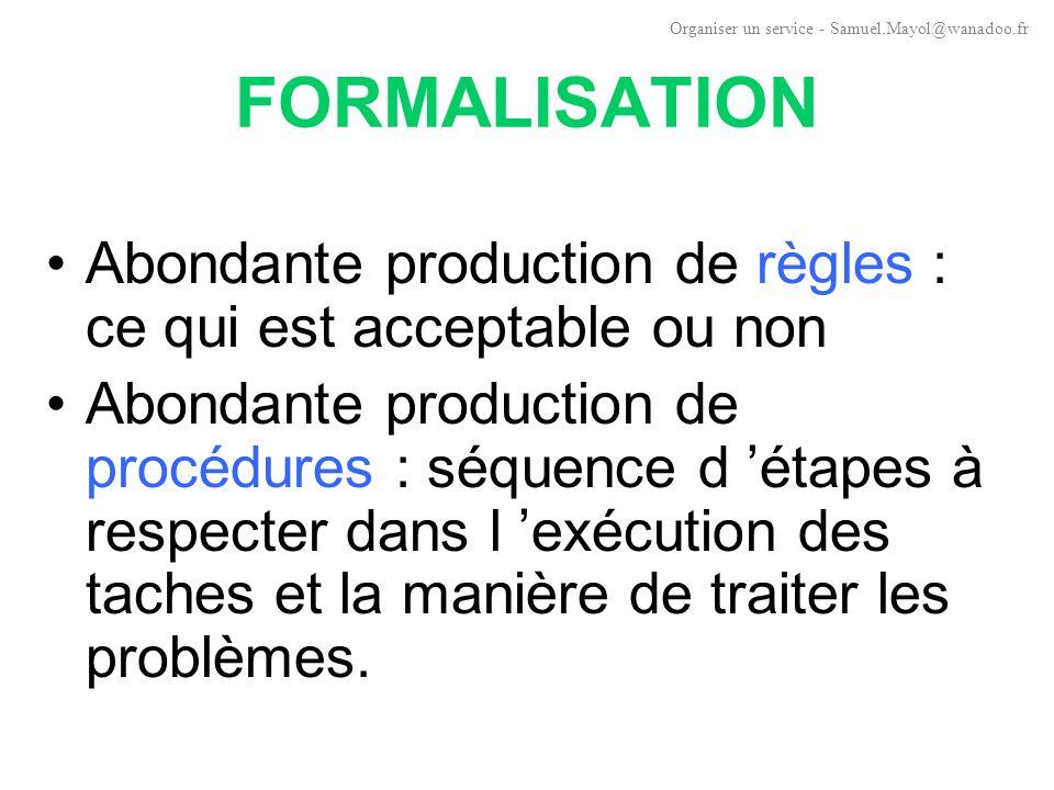 COORDINATION Objectif: préserver la cohérence d ensemble Coordination par la hiérarchie : chère à Fayol : modèle dominant (unité de commandement).