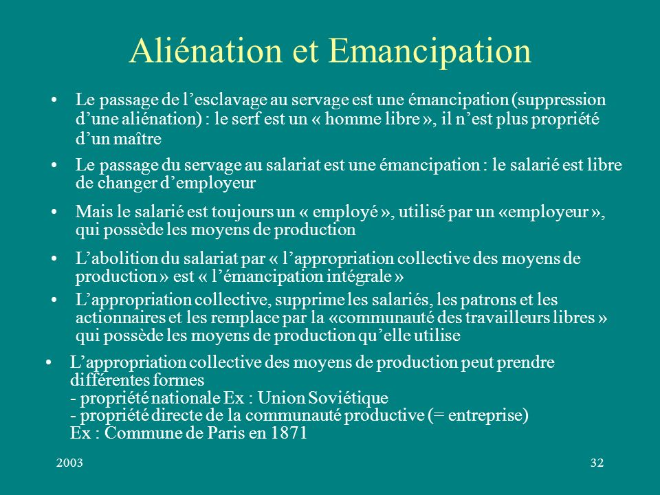200331 Les antagonismes entre forces productives et rapports de production conditionnent le passage d un mode de production à un autre : Un mode de production disparaît quand les rapports de production deviennent une entrave au développement des forces productives.
