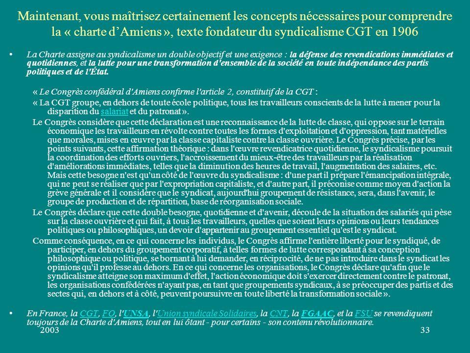 200332 Aliénation et Emancipation Le passage de lesclavage au servage est une émancipation (suppression dune aliénation) : le serf est un « homme libr