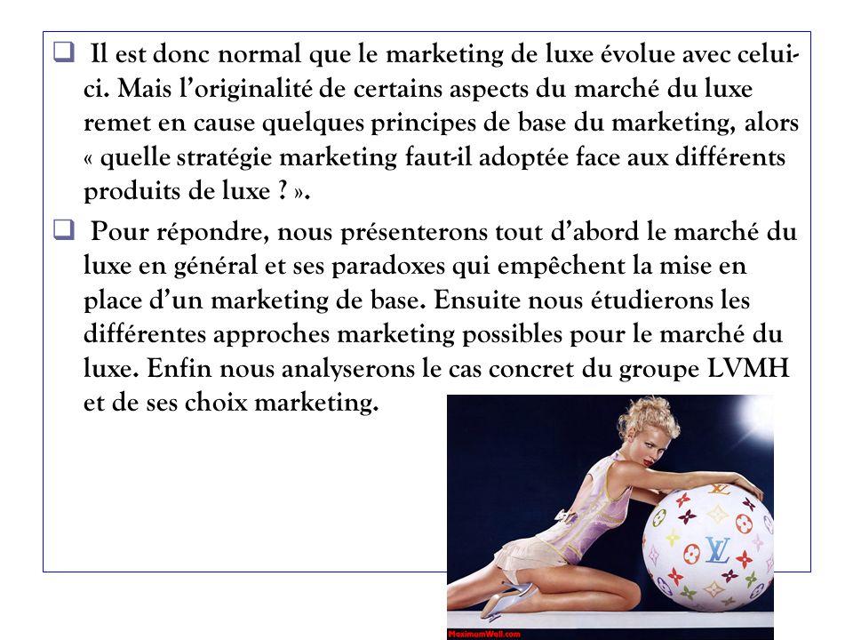 Le groupe LVMH opère dans différents secteurs dactivités : nous allons illustrer cela à travers 2 exemples : Dior et Moët et Chandon.
