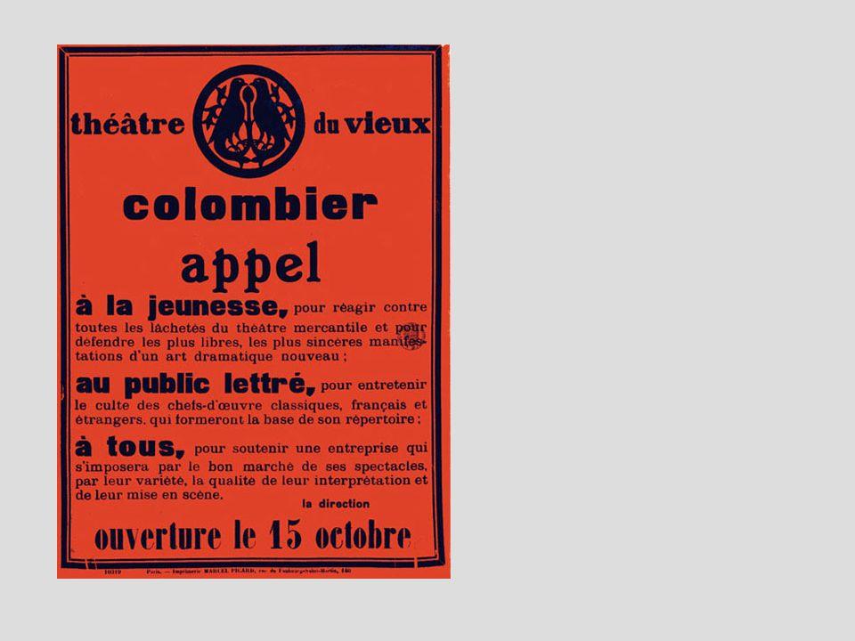 Née des « Copiaux » la « Compagnie des Quinze » retrouve Vieux Colombier en 1931.