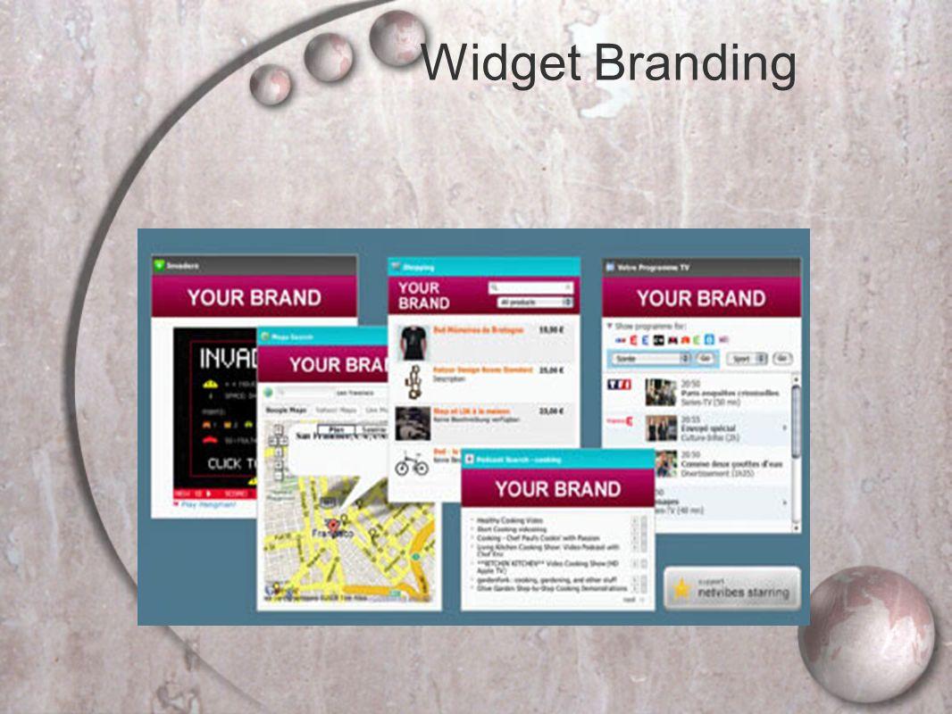 Widget Branding