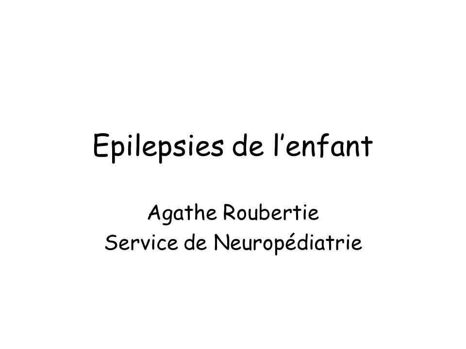 Définitions Incidence des crises épileptiques néonatales: 0.5 à 1.5 % des naissances vulnérabilité du cerveau à cet âge diversité des facteurs susceptibles dagresser le cerveau Symptomatiques dans la grande majorité des cas: cause évidente dans 1/3 cas
