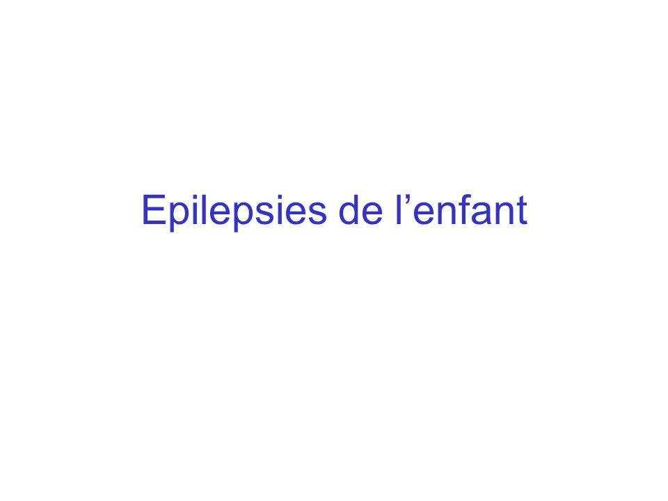 Incidence Lincidence de lépilepsie (nombre de nouveaux cas/100 000 habitants/an) varie selon la tranche dâge considérée : avant 1 an : 120 /100 000 1-4 ans : 60 /100 000