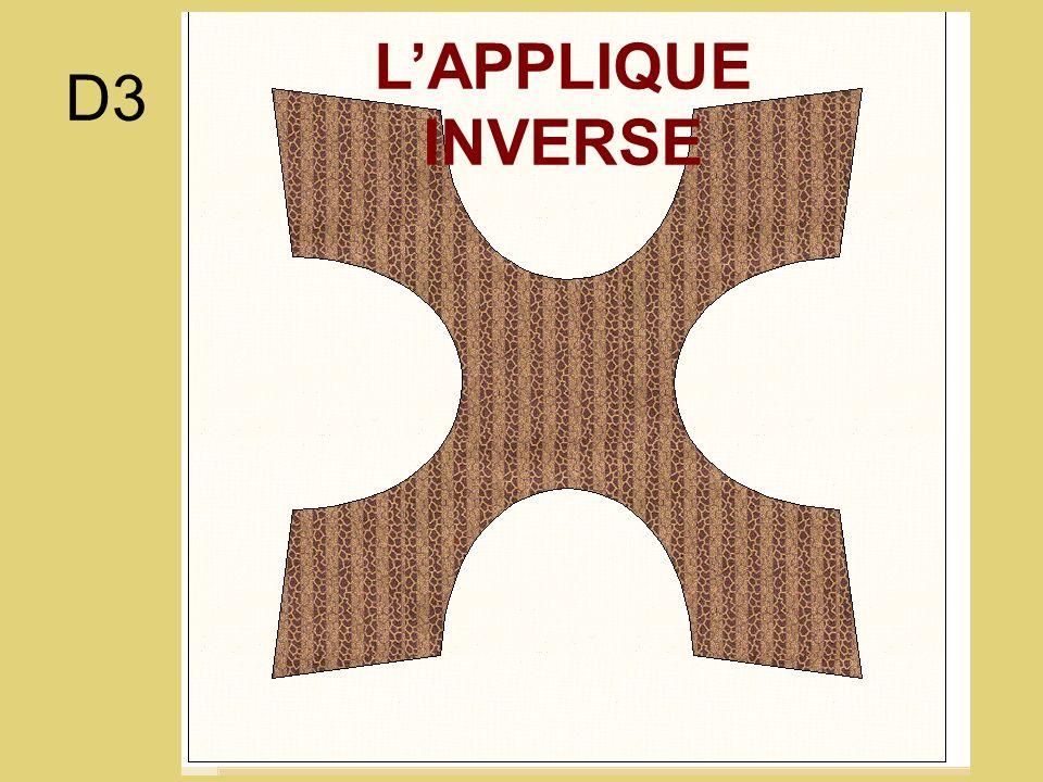 D3 LAPPLIQUE INVERSE