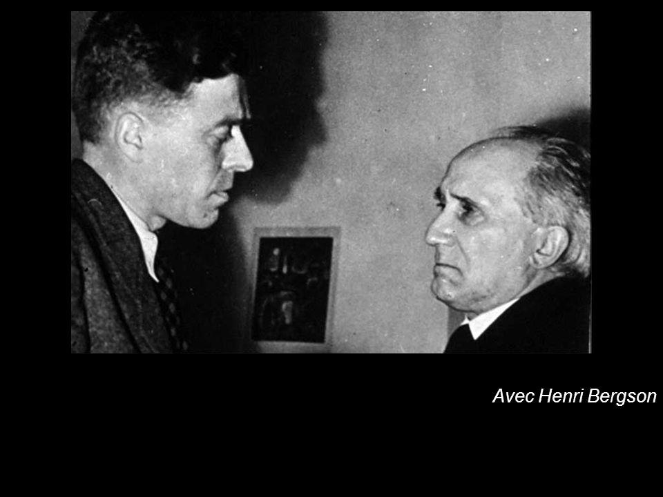 Avec Henri Bergson