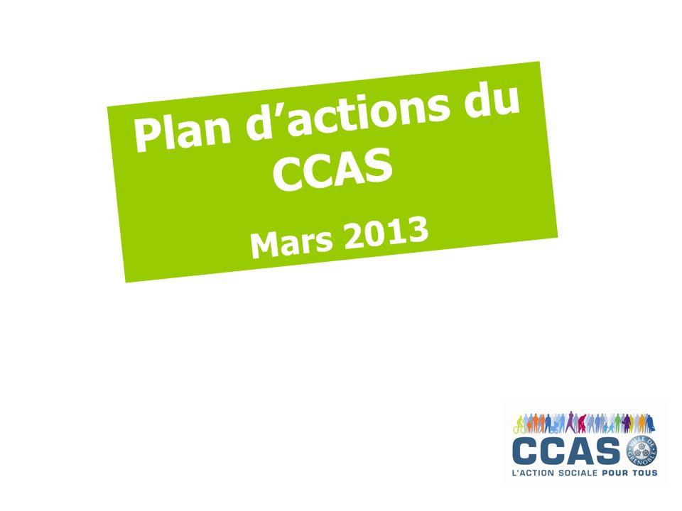 Plan dactions du CCAS Mars 2013