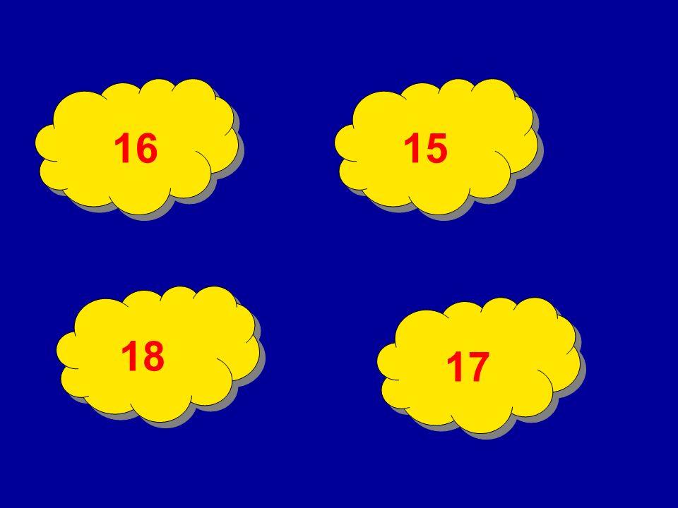 19 17 ? 13 11 9