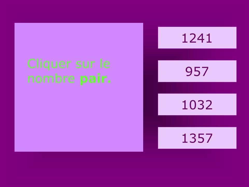 6. cheval 144 212 110 123 Quel est le nombre impair ?