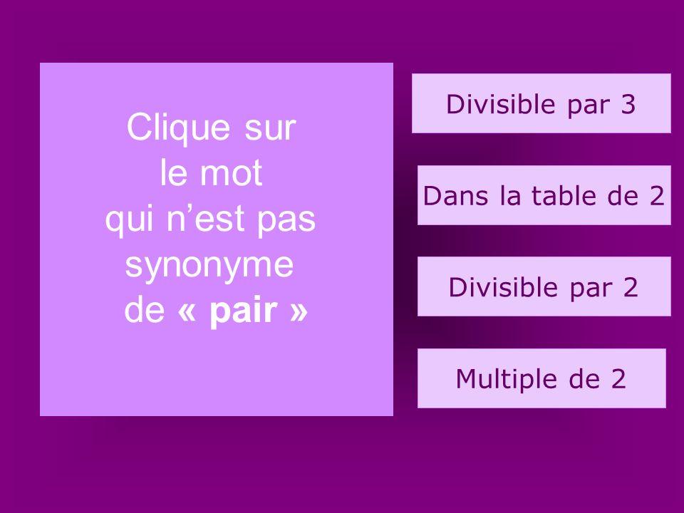 13. armoire 25 23 24 21 Quel est le nombre dans la table de 2 ?