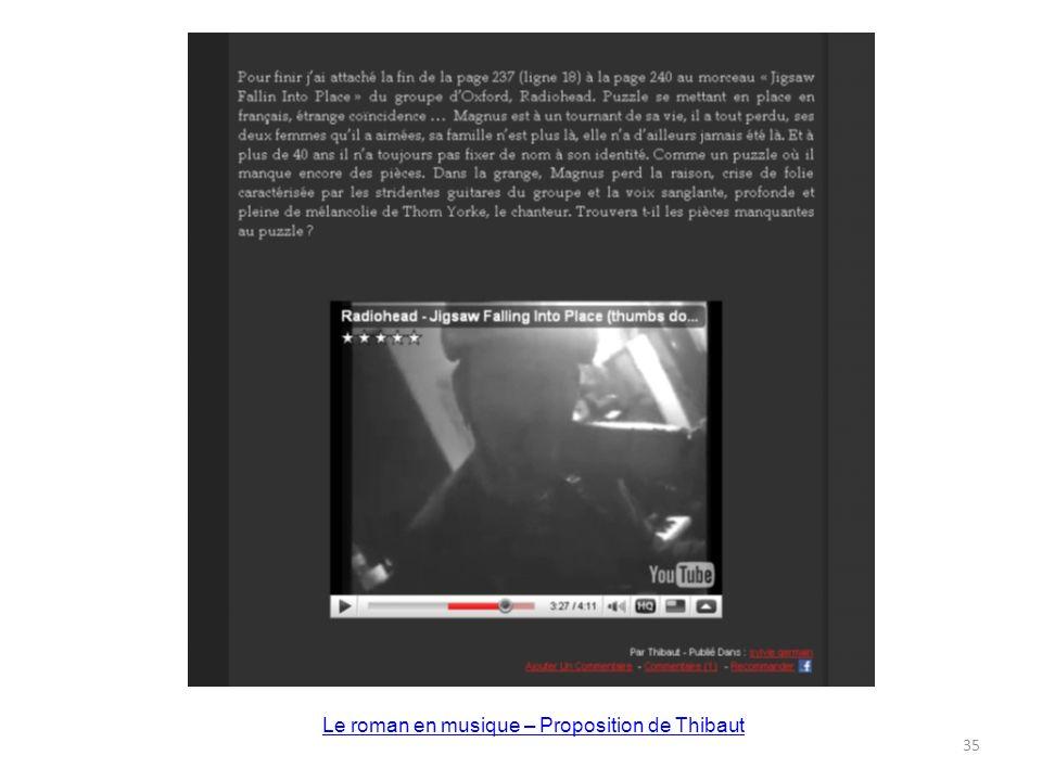 Le roman en musique – Proposition de Thibaut 35