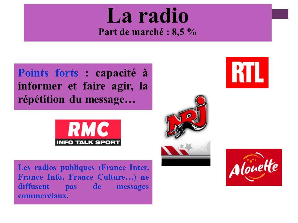 + Affichage 12% recettes pub panneaux 4mx3m : Avenir, Giraudy, Dauphin 16/9eme : Groupe More Panneaux moyens transport : bus, … Mobilier urbain : Deca