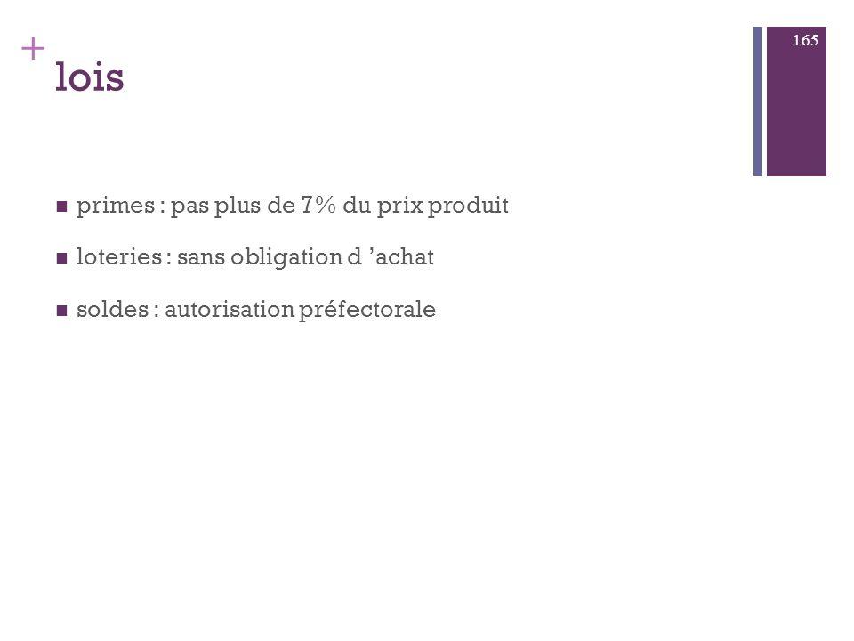 + ex : tour de France globale : produit :promo on pack : cadeaux consos Prix/Promo : relai magasin / winner : VTT/ parcours action distri / l équipe +