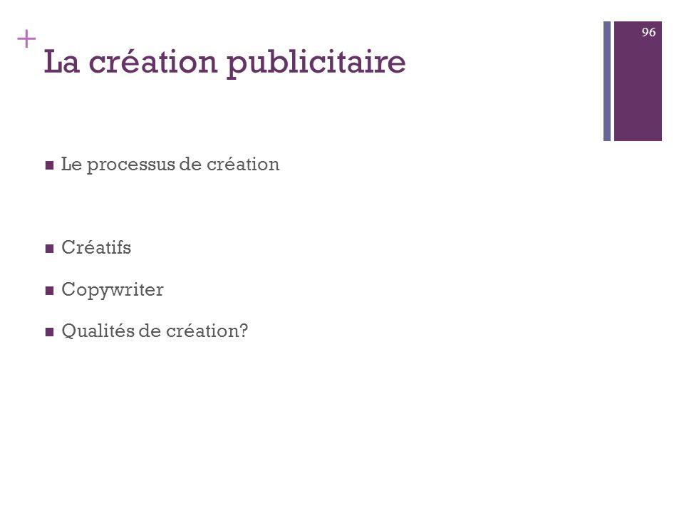 + Tendances : Regoupements Et spécialisations Copy strategy? Ou Star strategy? 95