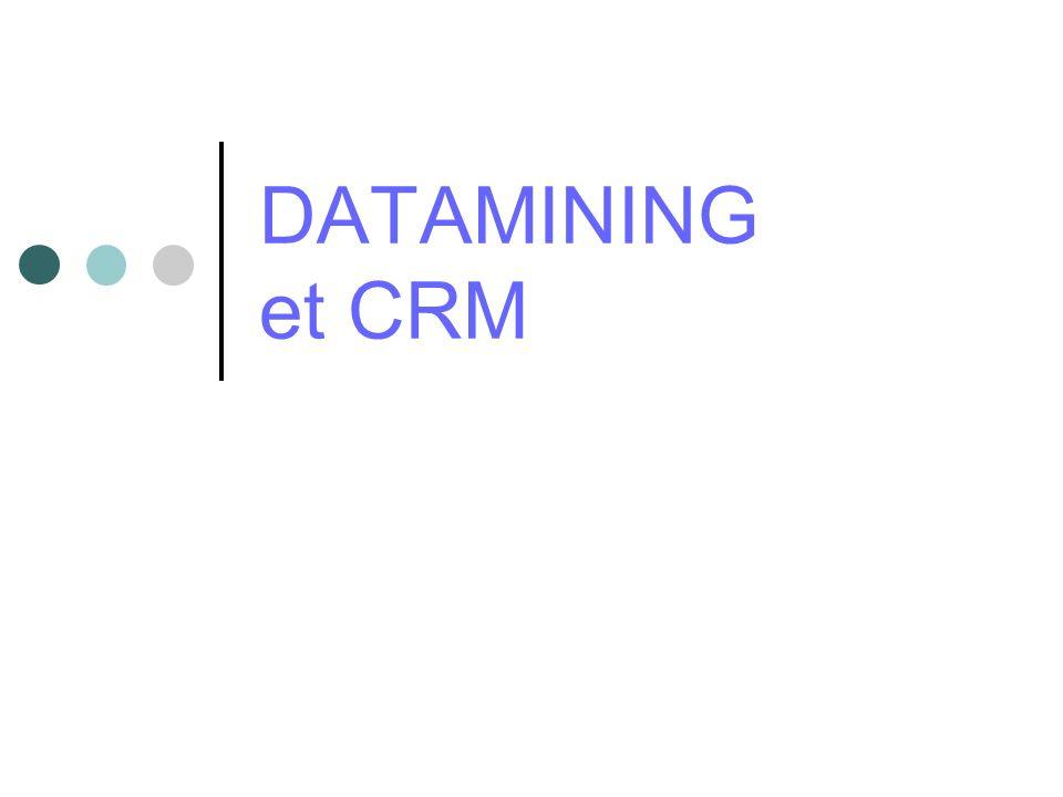 DATAMINING et CRM