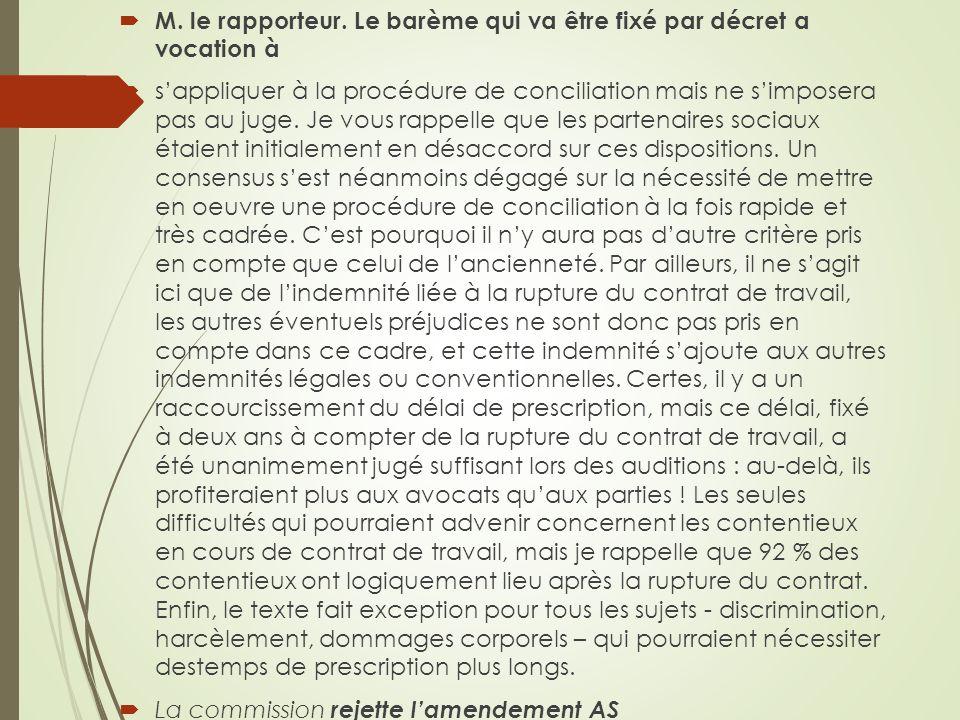 M. le rapporteur.
