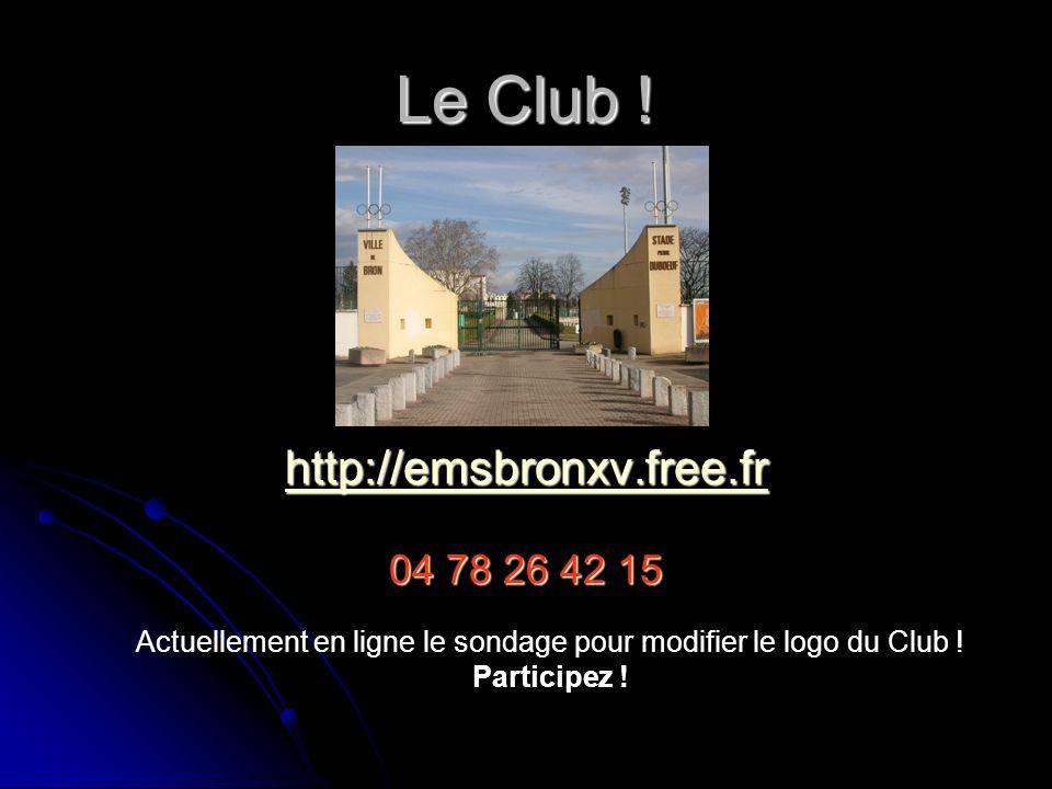 Le Club EMS Bron XV
