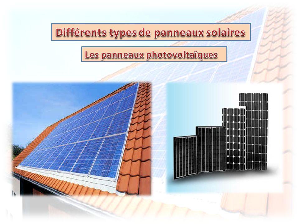 Les panneaux photovoltaïques contiennent des cellules de silicium qui génèrent une tension électrique au contact de la lumière du soleil, cest leffet photovoltaïque.