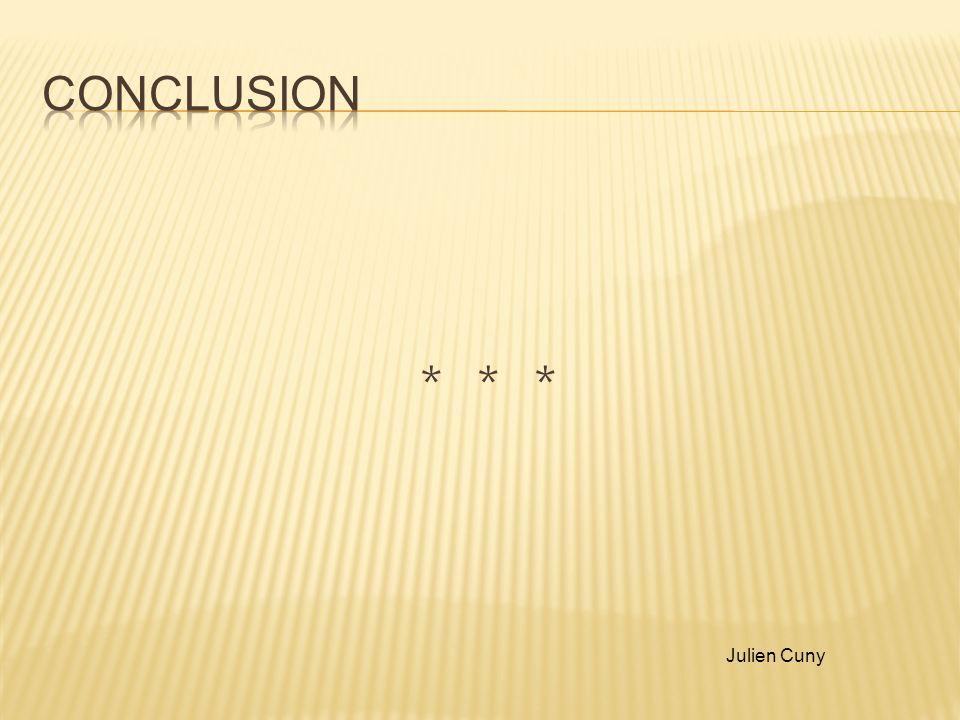 * * * Julien Cuny
