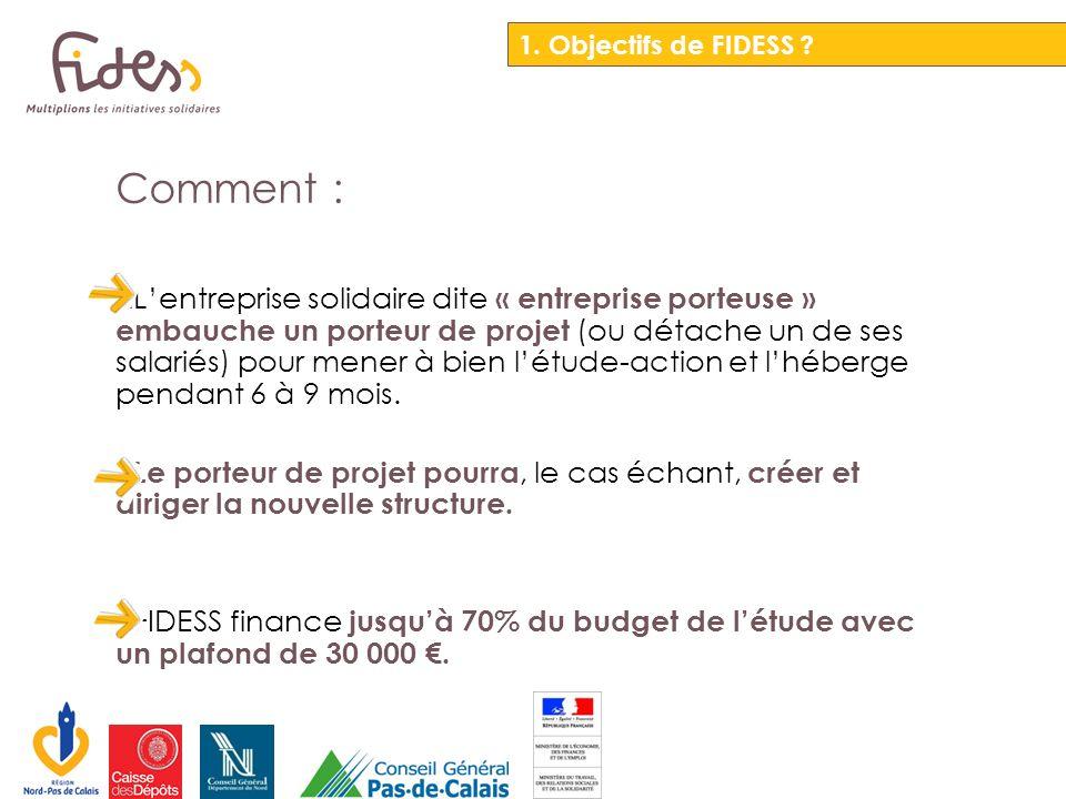 Ce dispositif a été expérimenté au niveau national pendant deux ans à linitiative de la Caisse des Dépôts avec lappui du réseau France Active sous le nom de Fonds de confiance.