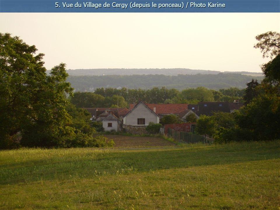 6. Cergy Vue sur léglise / Photo Goeffrey
