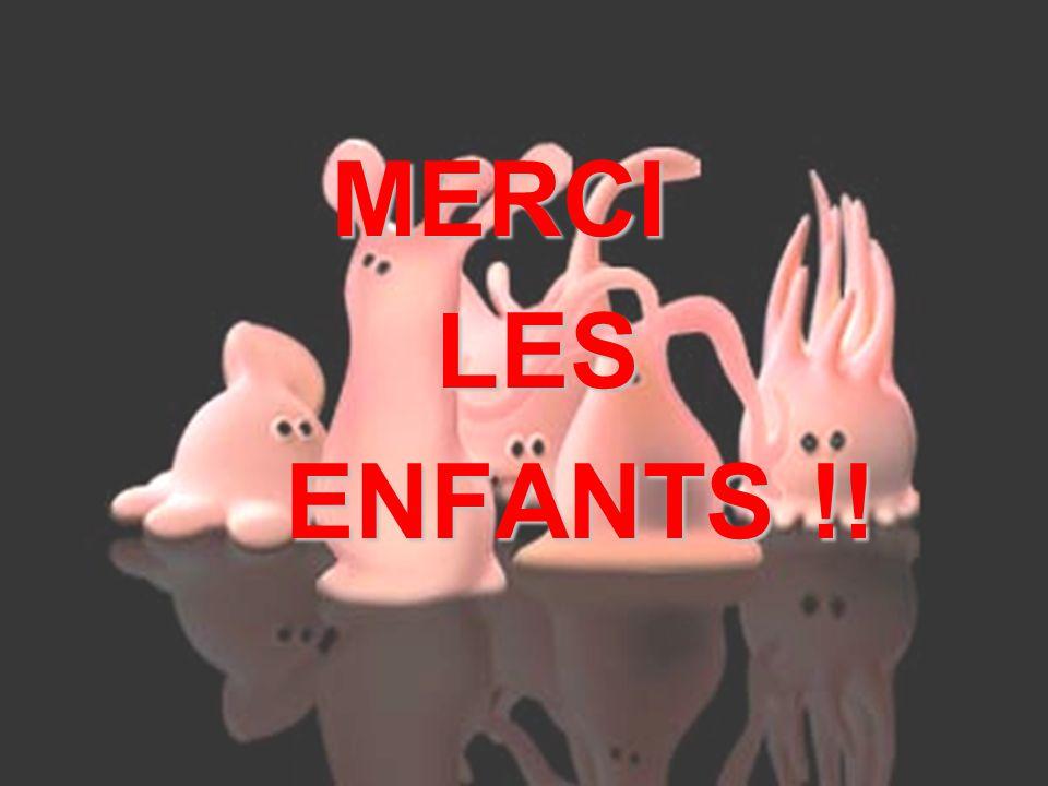 NIBOUREL Adrien – Séminaire durgence MERCI MERCI LES LES ENFANTS !! ENFANTS !!