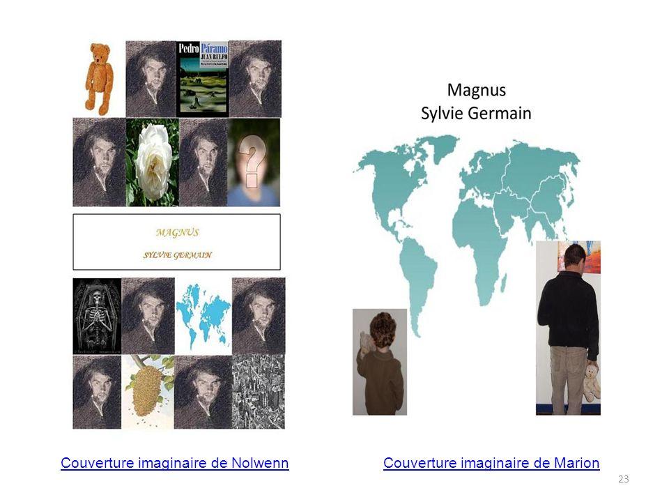 Couverture imaginaire de NolwennCouverture imaginaire de Marion 23