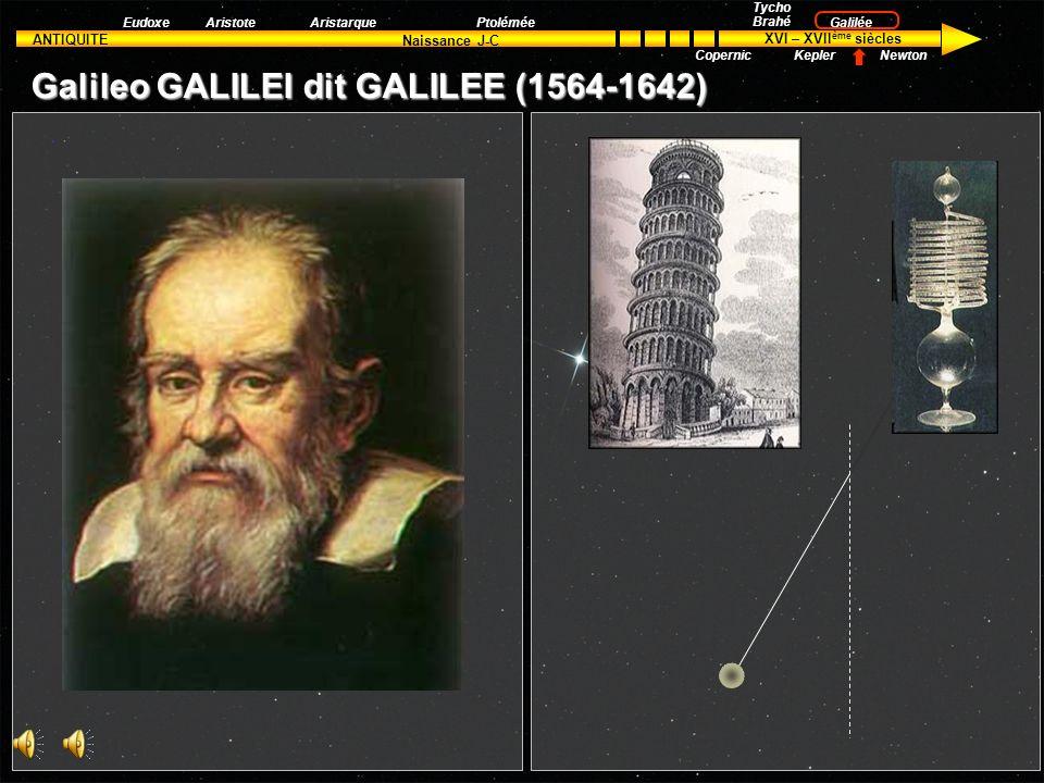 ANTIQUITE XVI – XVII ème siècles Naissance J-C Aristote Tycho Brahé Kepler Galilée Newton EudoxeAristarquePtolémée Copernic T1T1 T2T2 r1r1 r2r2 = T1T1