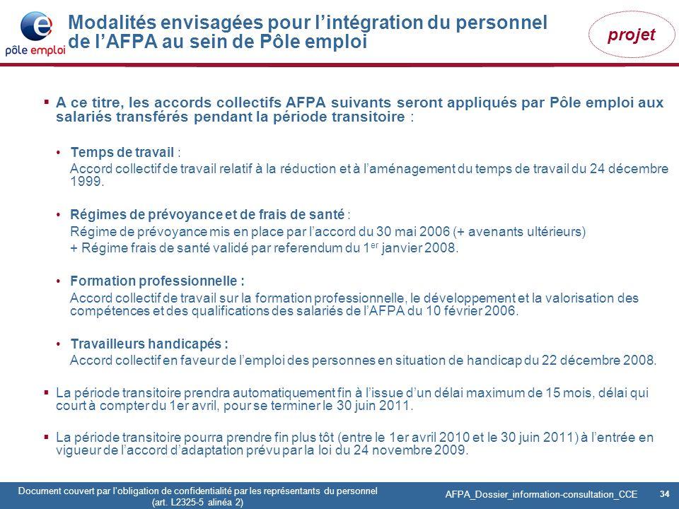 34 Pôle emploi Centre Fiches des instances Version Codir du 9 janvier 2009 34 Document couvert par lobligation de confidentialité par les représentant