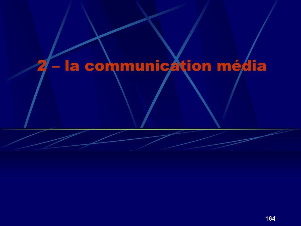 164 2 – la communication média