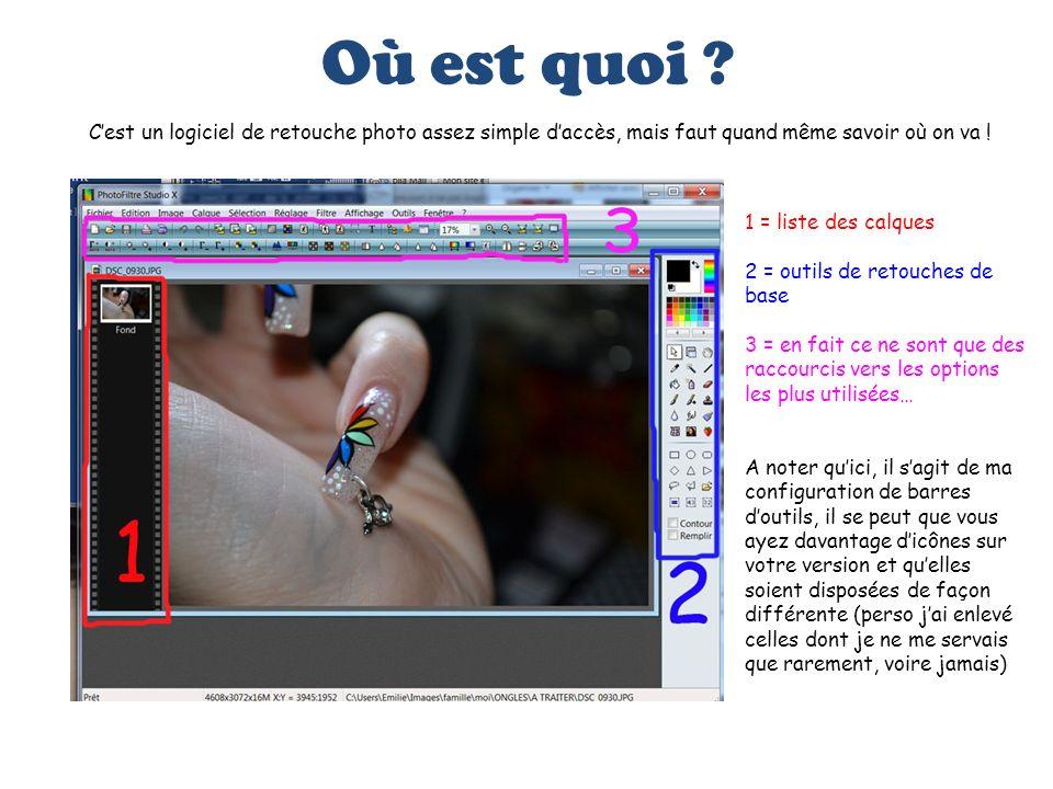 Recadrer la photo Cliquez sur « Image » dans le menu, puis sur « Recadrer » Sélectionnez le morceau de photo que vous voulez garder.
