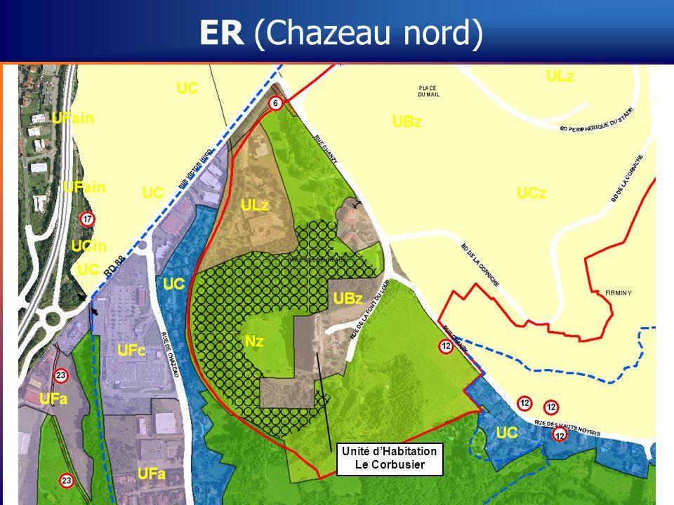 ER (Chazeau nord) Unité dHabitation Le Corbusier