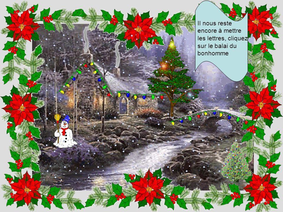 Un Noël sans neige nest pas un Noël, cliquez sur le petit sapin illuminé