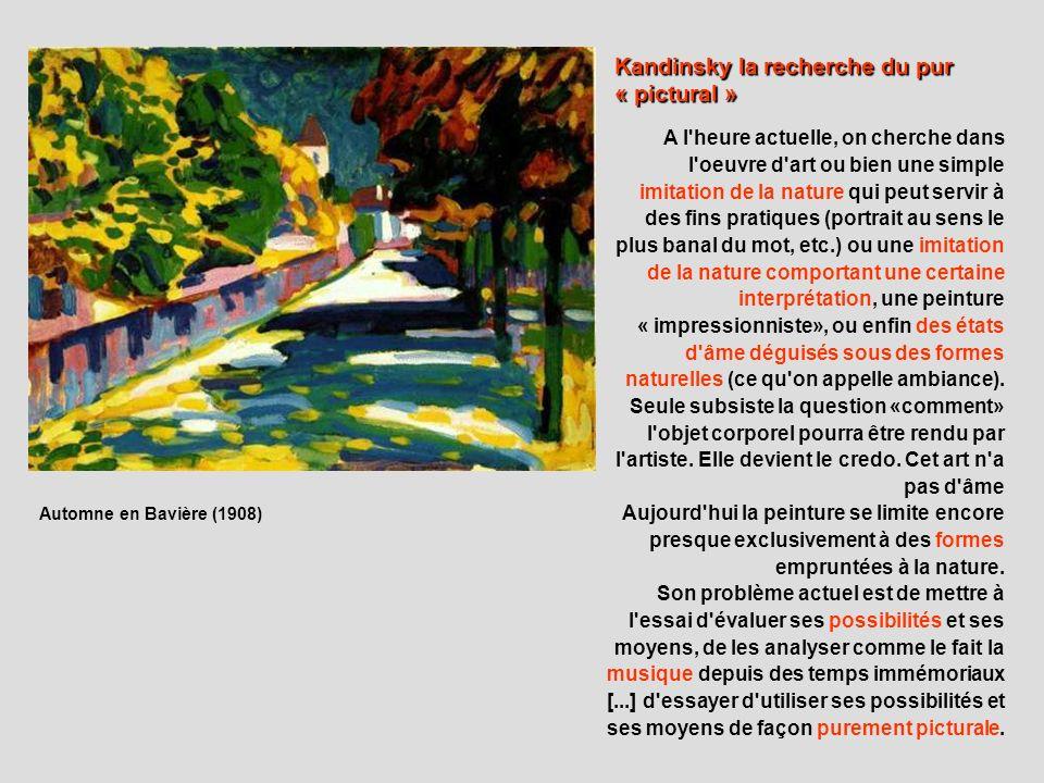 A l'heure actuelle, on cherche dans l'oeuvre d'art ou bien une simple imitation de la nature qui peut servir à des fins pratiques (portrait au sens le