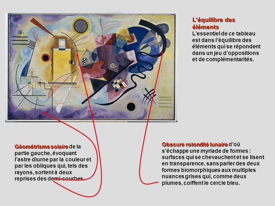 Géométrisme solaire Géométrisme solaire de la partie gauche, évoquant lastre diurne par la couleur et par les obliques qui, tels des rayons, sortent à