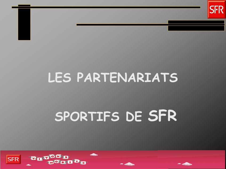 Stratégie SFR STRATÉGIE DE SPONSORING Positionnement de SFR sur le football Positionnement de SFR sur loutdoor et la nature