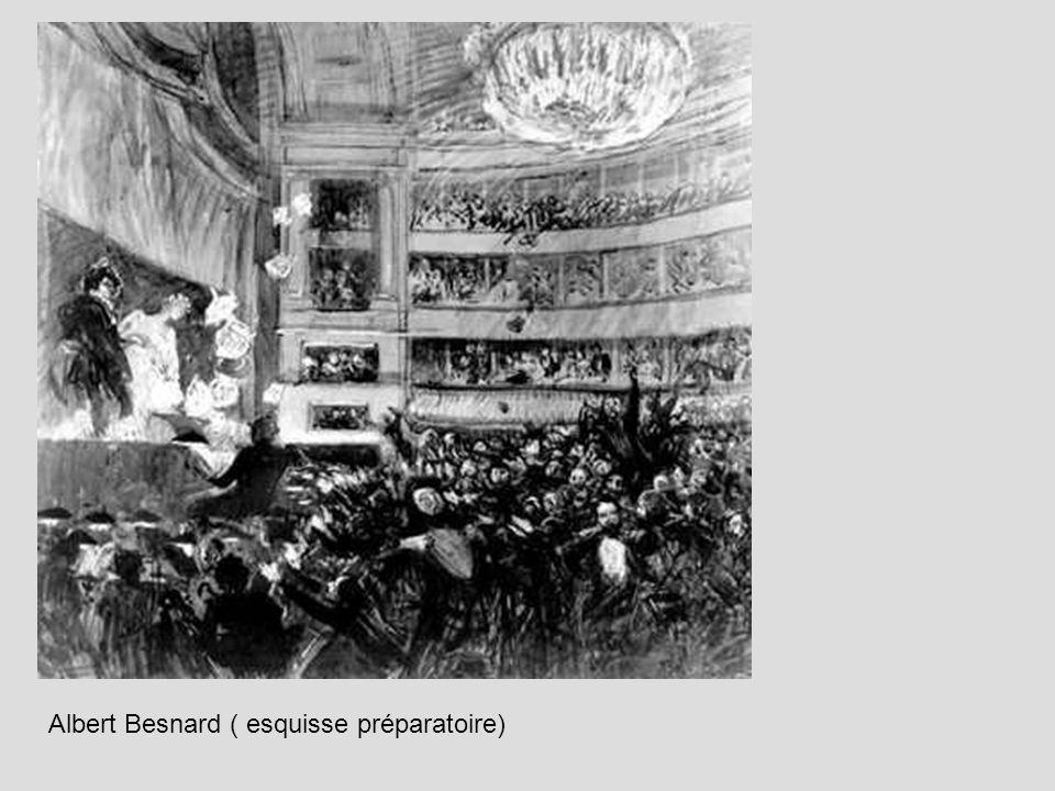 Albert Besnard ( esquisse préparatoire)