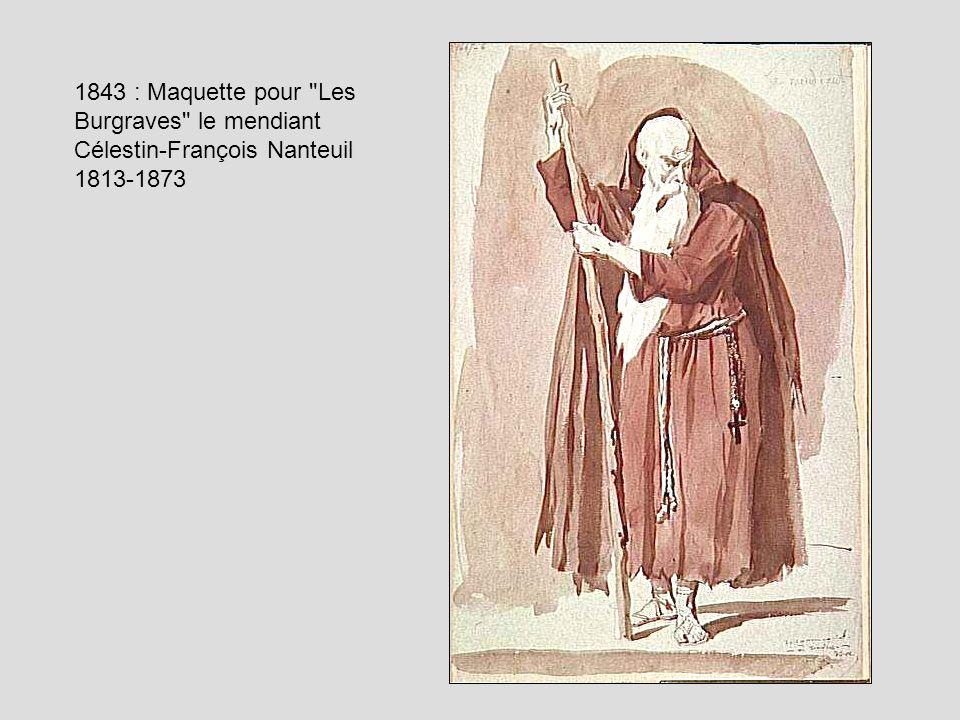 1843 : Maquette pour