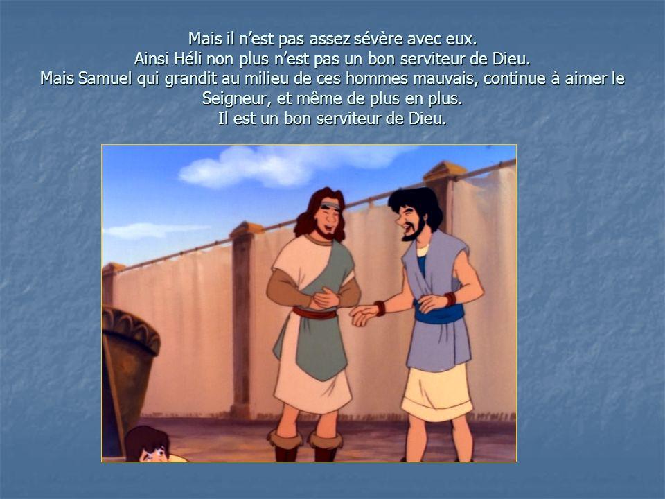 Une nuit, Samuel est réveillé par une voix qui lappelle: Samuel, Samuel !