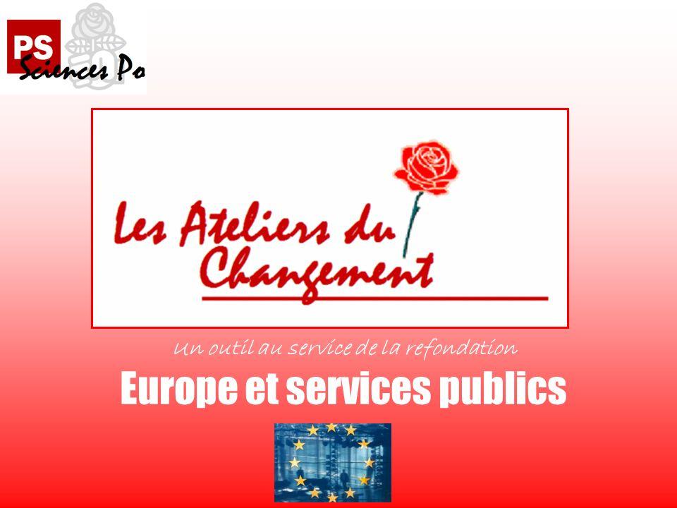Un outil au service de la refondation Europe et services publics
