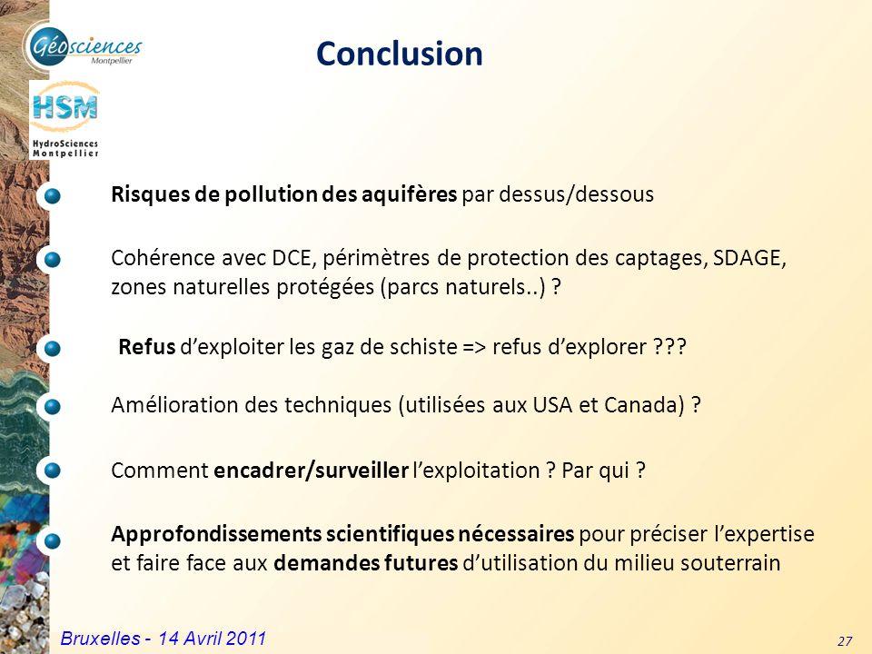 Communauté de Communes du Grand Pic Saint Loup – 3 mars 2011 27 Approfondissements scientifiques nécessaires pour préciser lexpertise et faire face au