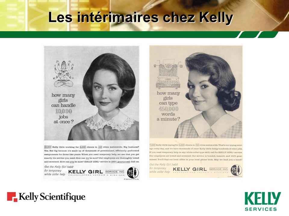 Les intérimaires chez Kelly
